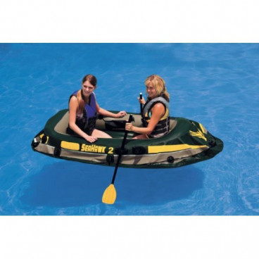 Barca gonflabila pentru 2 persoane Seahawk II Intex 68346