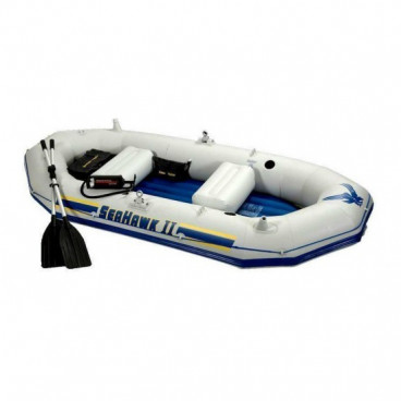 Barca gonflabila Seahawk II pentru 3-4 persoane Intex 68377