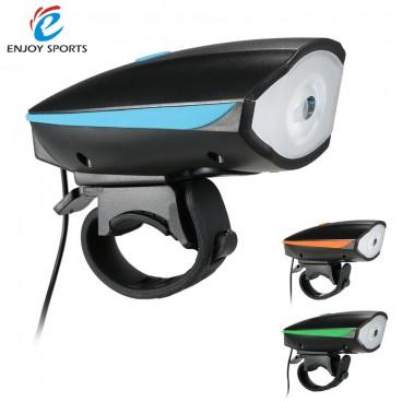 Lanterna pentru bicicleta reincarcabila 2in1 cu LED si alarma
